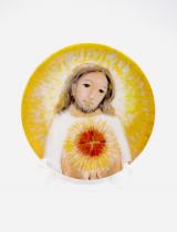 예수성심 - 소 (도자기 시리즈 1)